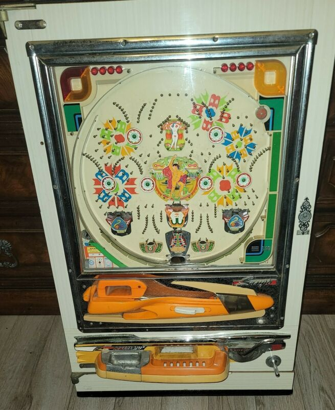 VINTAGE PACHINKO MACHINE ADAM & EVE