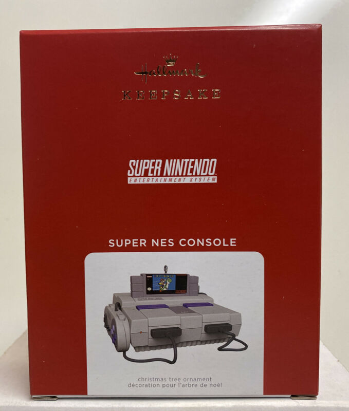 2021 Hallmark Keepsake Super Nintendo NES Console Ornament