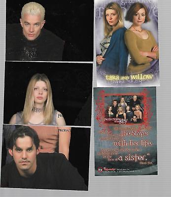 Cards - Buffy - Season Five - 5x Sondercards - Protectors of Key von 2001