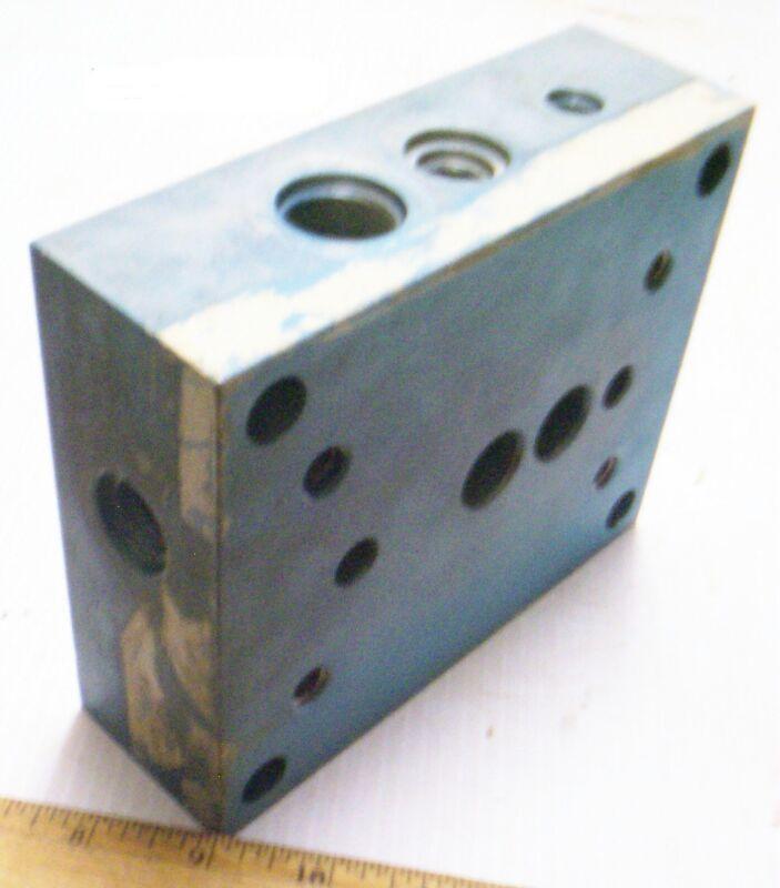 Aluminum Control Block / Manifold