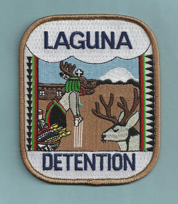 LAGUNA PUEBLO NEW MEXICO TRIBAL DETENTION SHOULDER PATCH