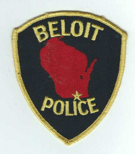 VINTAGE BELOIT, WISCONSIN POLICE (CHEESE CLOTH BACK) patch