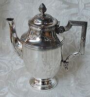 Caffettiera Francese Metallo Argentato Punzone Argit Sfoa, Napoleone Iii C1880 -  - ebay.it