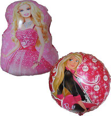 2PCES BARBIE DOLL BALLOON PRINCESS GIRL THEME PARTY DECORATION GIFT FAVOR - Barbie Birthday Theme