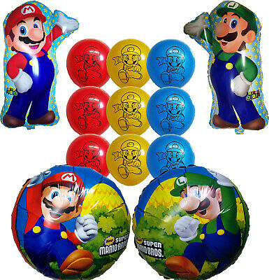 Super Mario Bros Balloon Birthday Party Supplies Decoration Gift Favor - Mario Balloon