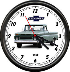 Licensed 1962 Classic Chevrolet Pickup Truck General Motors Sign Wall Clock