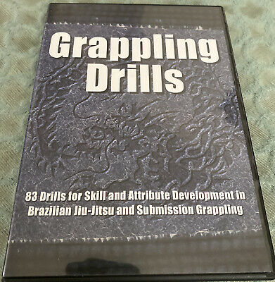 GRAPPLING DRILLS By Stephan Kesting Instructional DVD- Jiu Jitsu BJJ MMA