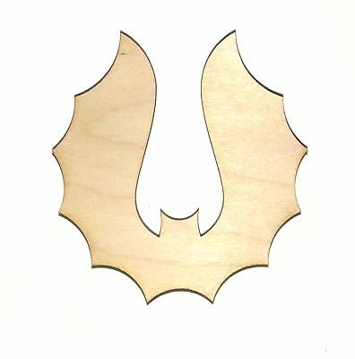Bat Laser Cut Unfinished Wood Shape Cut Out B11468 Crafts Lindahl Woodcrafts (Bat Cut Outs)