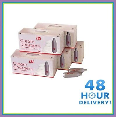 ISI N2O Nitrous Oxide Cream Chargers, Nos, Noz Whipper Canisters - FREE DELIVERY