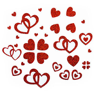 t -  Glitter Glitzernde Herzen (Herzen Glitter)