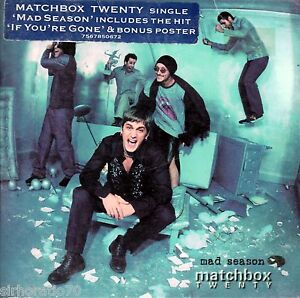 MATCHBOX-TWENTY-Mad-Season-OZ-CD-Single-2000-Digipak-If-Youre-Gone-Poster