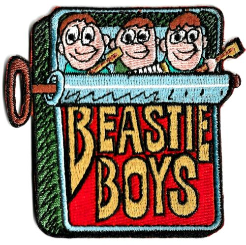 Beastie Boys - In Sardine Can Patch [Embroidered Iron On or Sew On] Logo Symbol