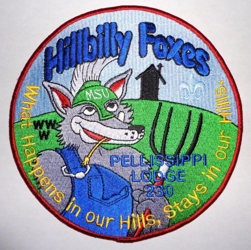 Pellissippi Lodge 230 2012 NOAC OA Jacket Patch - Great Smoky Mountain Council