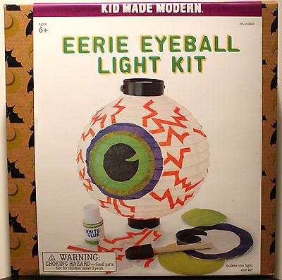 Unheimliche Augapfel Licht Kit Halloween Basteln Projekt-Dekoration
