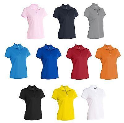 ADIDAS Golf - Women's Climalite Polo, Ladies Size S-3XL, Dri-fit Sport Shirts