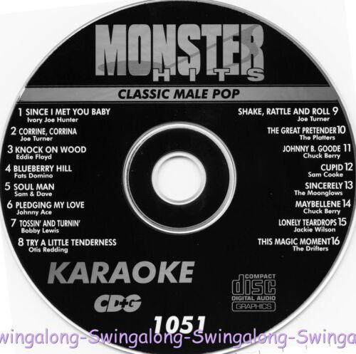 Monster Hits Karaoke CD+G vol-1051/ Sam & Dave,Chuck Berry,Driffers,Platters+