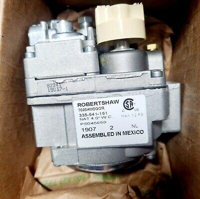 Robertshaw Unitrol Natural Gas Valve Steamer Fryer 7000-amsgor 335-541-151