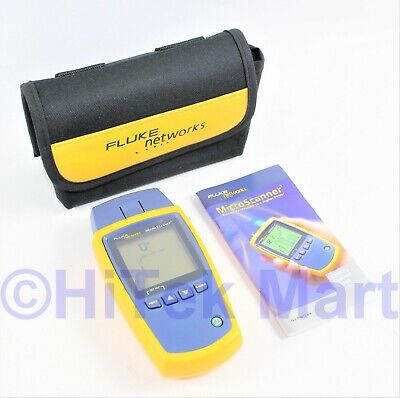 Fluke Microscanner2 Ms2-100 Network Cable Tester With Nylon Case