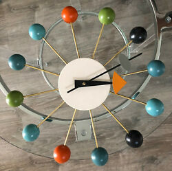 George Nelson Multicolor Wall Clock