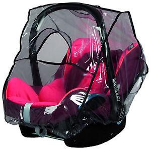 Regenverdeck Regenschutz Regencape für Babyschale Autositz z.B. Maxicosi NEU OVP