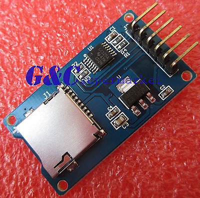 2pcs Micro Sd Storage Board Sd Tf Card Memory Shield Module Spi Arduino M48