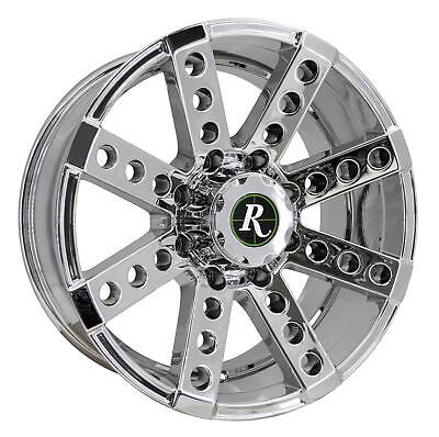 Remington Off-Road Wheels BUCKSHOT 17x9 Rims 6x139.7 +12mm Bright Chrome *SALE*