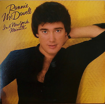RONNIE McDOWELL: In a New York Minute-M1985LP EXILE