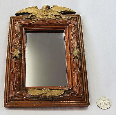 Vintage Mirror with Gold Eagle & Gold Stars for sale  Elmhurst