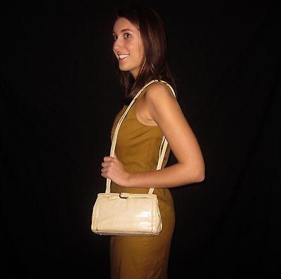 JUDITH LEIBER EMBOSSED SNAKESKIN PYTHON EVENING BAG CLUTCH GOLD BUCKLE DETAIL Buckle Clutch Evening Bag
