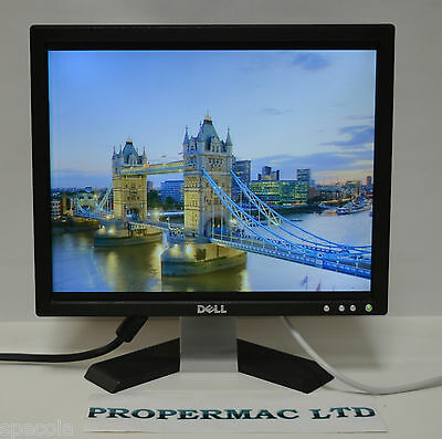 """Dell 17"""" LCD MONITOR 1280x1024 VGA GRADE B FOR PC CCTV OFFICE HOME  24H DELIVERY"""