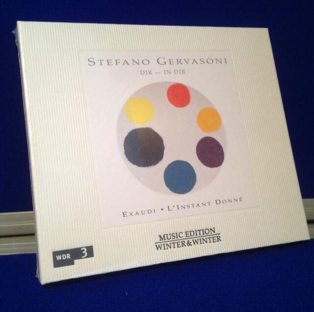 NEW SEALED Stefano Gervasoni: Dir - In Dir (2014) CD Exaudi - L'Instant Donne
