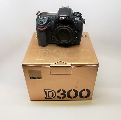 NIKON D300 12.3MP 3''Screeen Digital SLR Camera - BODY (Shutter count Only 147 ) for sale  Shipping to Nigeria