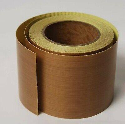 4 X33ft Teflon Tape Ptfe 180um Thicker 662 Adhesive High-temp Fiberglass