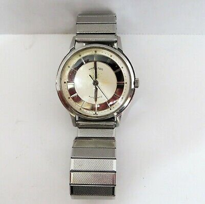 Vintage Hamilton Thin-O-Matic T-500 Automatic Stainless Steel Watch