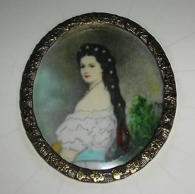 Kaiserin Elisabeth von Österreich-Ungarn Gemälde Miniaturmalerei Lisi Sisi Sissi