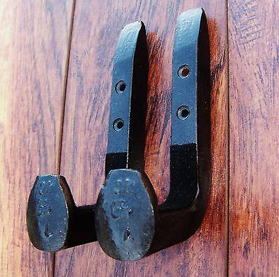 Gun rack hangers hooks wall mount shotgun rifle hunting western decor blacksmith