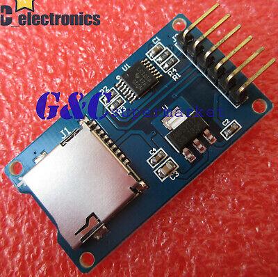 5pcs Micro Sd Storage Board Sd Tf Card Memory Shield Module Spi Arduino M48 A3gs