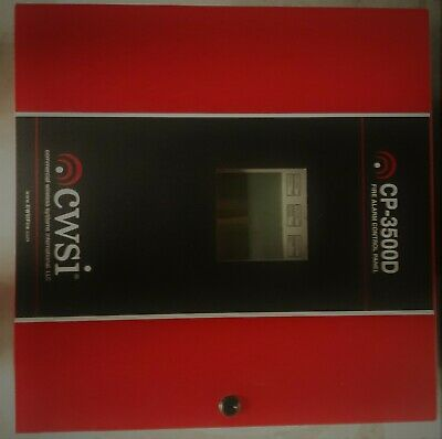 Cwsi Cp-3500d Wireless Commercial Fire Alarm System