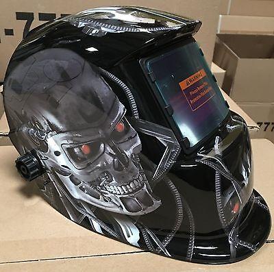 Tmrbag Solar Auto Darkening Welding Grinding Helmet W Hood Bag