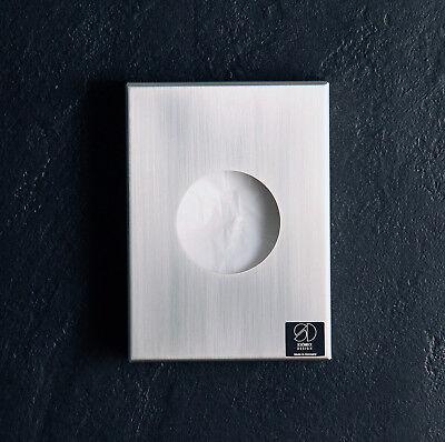 Hygienebeutelspender aus Edelstahl matt geschliffen TOP von Schönbeck Design
