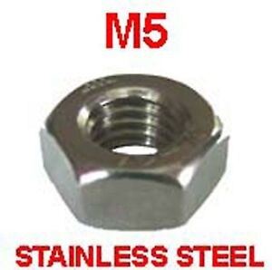 M5-Stainless-Steel-Full-Nuts-x-25-Free-P-P