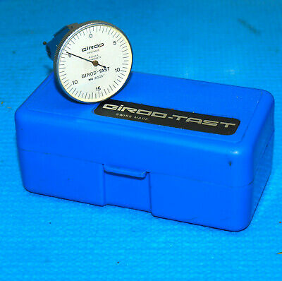 Swiss Made Girod Tast .0005 Vertical Dial Test Indicator. Tested Accurate