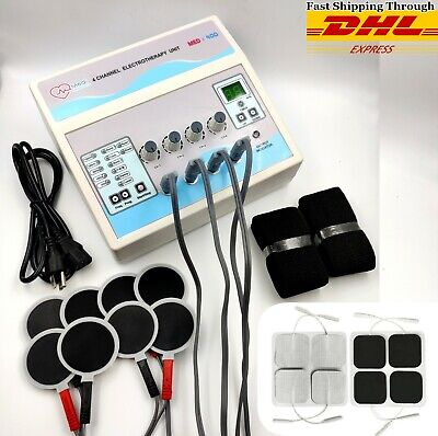 New Electrotherapy 4 Channel For Physical Pulsed Massager Physiotherapy Machine