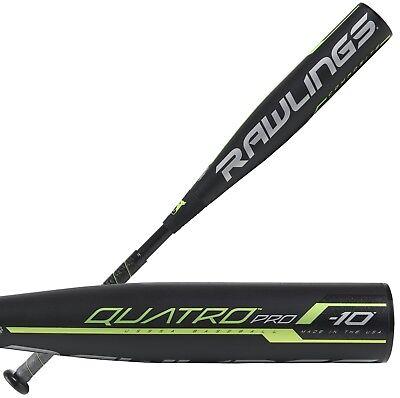 "2019 Rawlings Quatro Pro -10 31""/21 oz. Youth USSSA Baseball Bat UT9Q10, used for sale  Shipping to India"