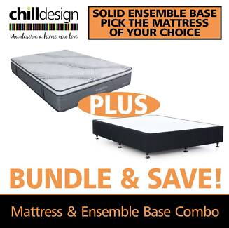 Ensemble Bed base & Mattress Single King Single Double Queen King