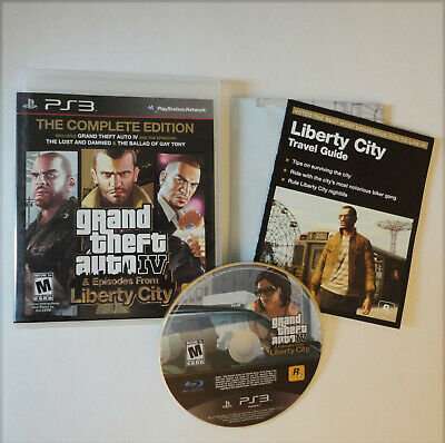 Grand Theft Auto IV Complete Edition (Sony PlayStation 3, 2008) CIB PS3 GTA 4