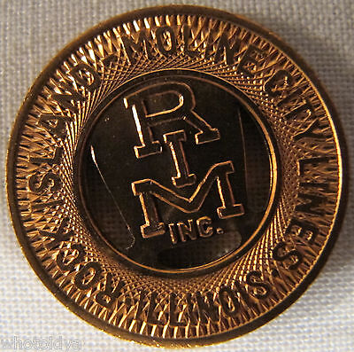 Rock Island Illinois Moline City Lines Transit Token BARELY CIRCULATED whotoldya
