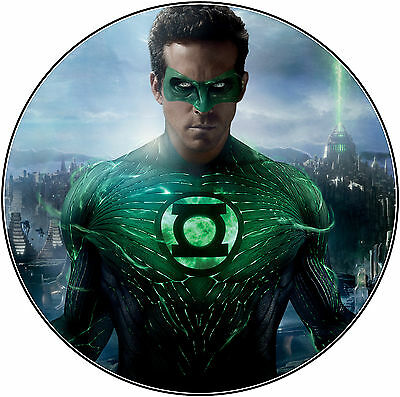 Muffin Grün T-shirt (Tortenaufleger The Green Lantern Muffin NEU Sheldon Dekoration T-Shirt DVD grüne)