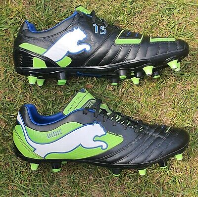 Nemanja Vidic Match Issued / Match Worn Football Boots - Very Rare Manchester...