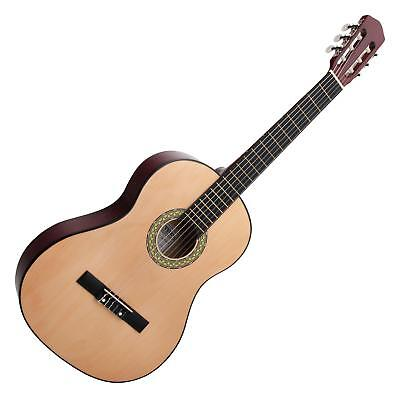 guitare acoustique classique bois tilleul 6 cordes nylon droitier taille 4/4